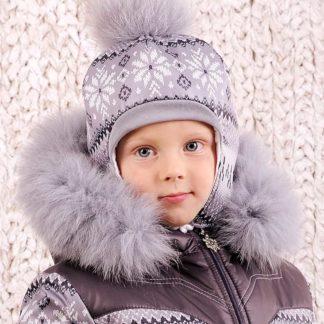 """Шапка зимняя """"Скандинавия"""" для мальчика"""