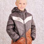 Куртка демисезонная для мальчика (коричневый)