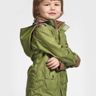 Ветровка(парка) для мальчика зеленая