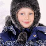 """Детская зимняя шапка для мальчика """"Схемы"""""""