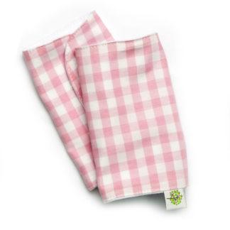 Накладки для сосания гигиенические розовые (в клеточку)
