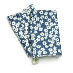 Накладки для сосания гигиенические (синие в цветочек)